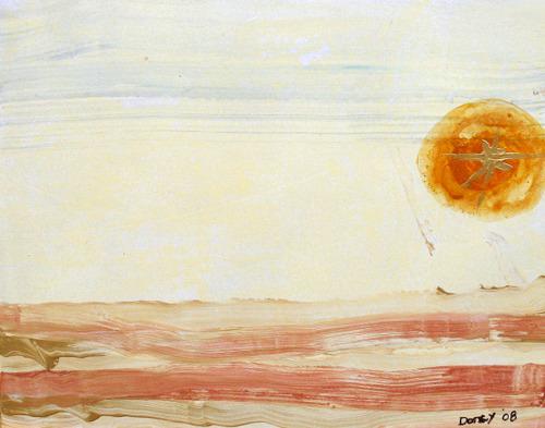 A Calm Desert Sun
